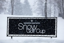 WINTER GOLF IN FRANCE: The Snow Golf Cup, Megeve, France
