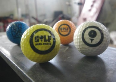 Show me your streetgolf ball Logos